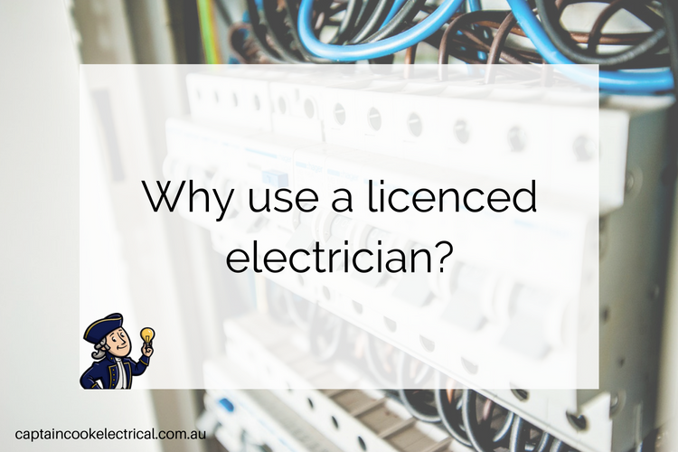 Why use a licenced electrician