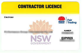 NSW Electrical Licence