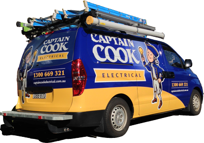 Captain Cook Electrical Van